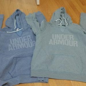 Under Armour 2 Set Hoodie Pocket Sweatshirt L